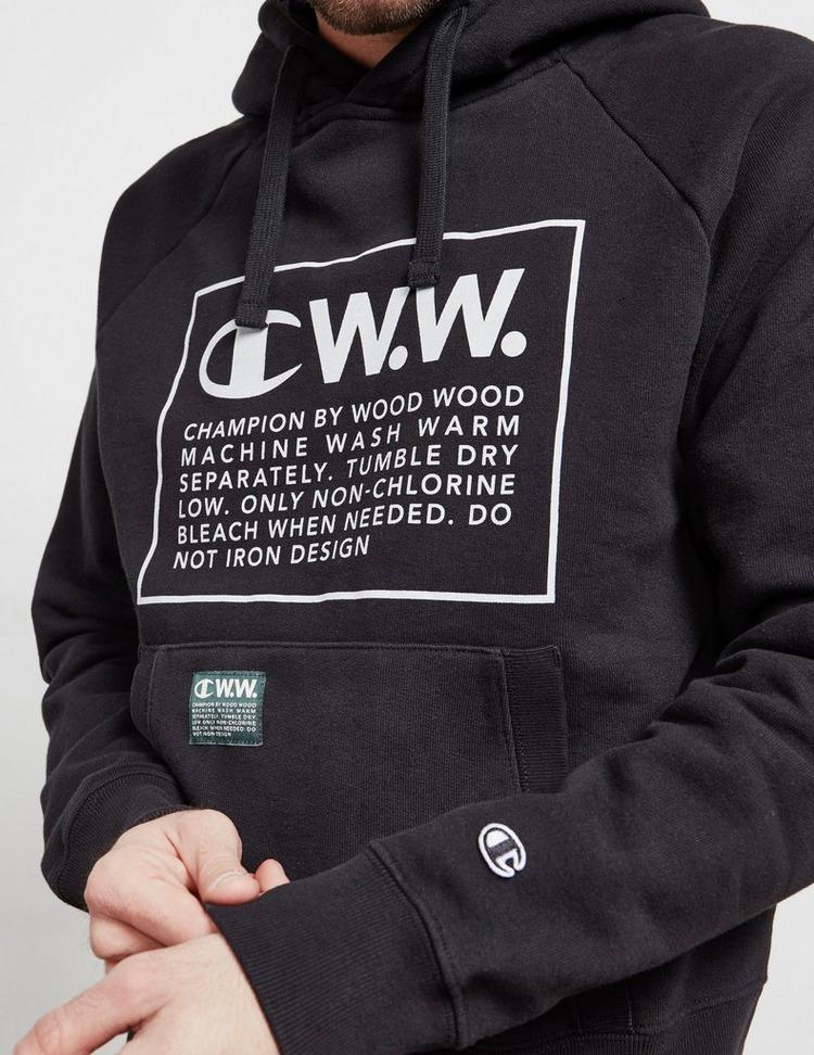 Champion x Wood Wood Box Logo Hoodie