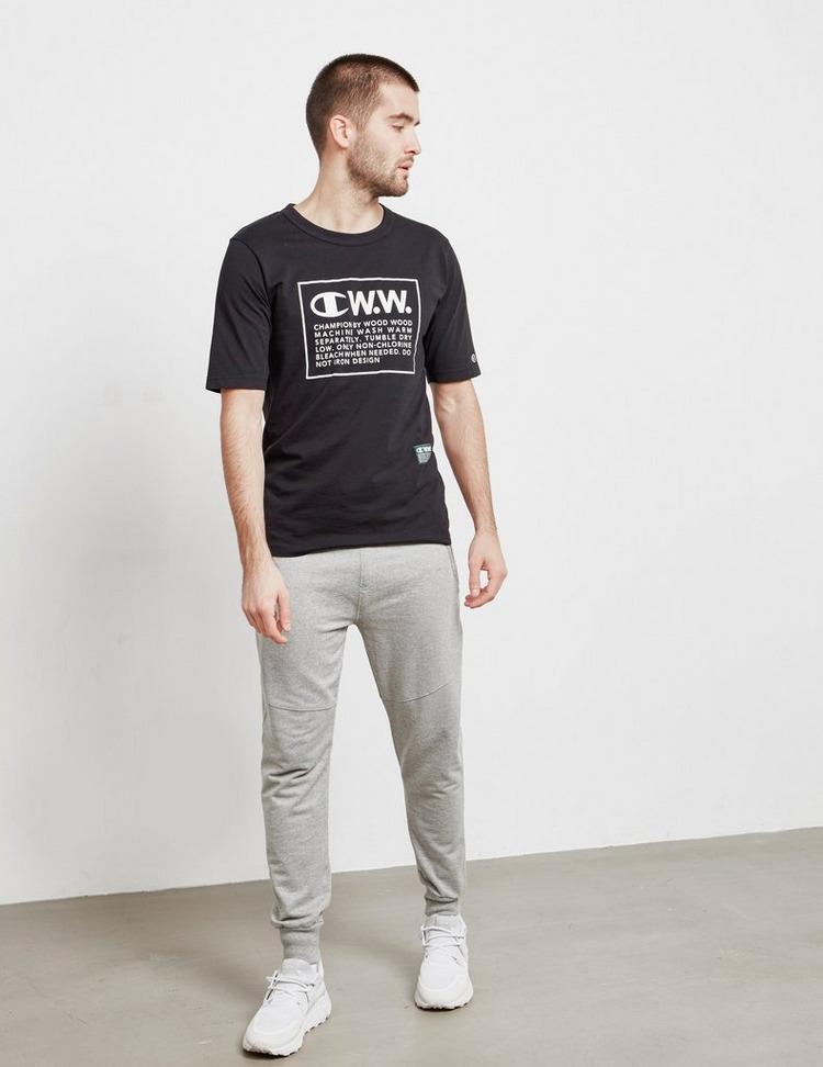 Champion x Wood Wood Box Logo Short Sleeve T-Shirt