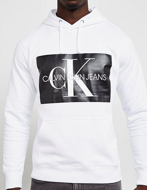 Calvin Klein Monogram Logo Overhead Hoodie