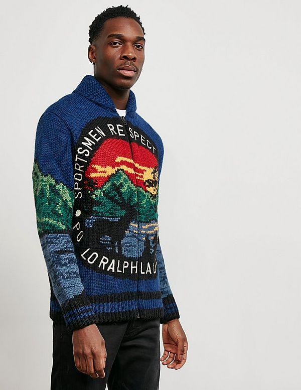 fadb5c25615 Polo Ralph Lauren Outdoors Full Zip Cardigan - Online Exclusive ...