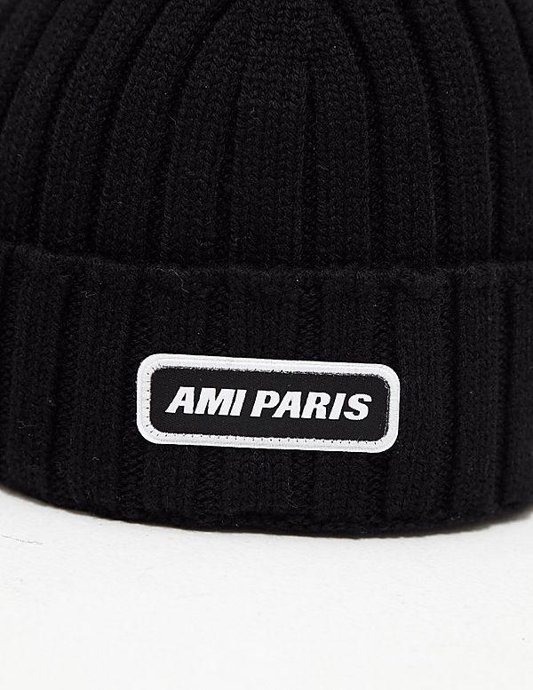 AMI Paris Patch Beanie - Online Exclusive