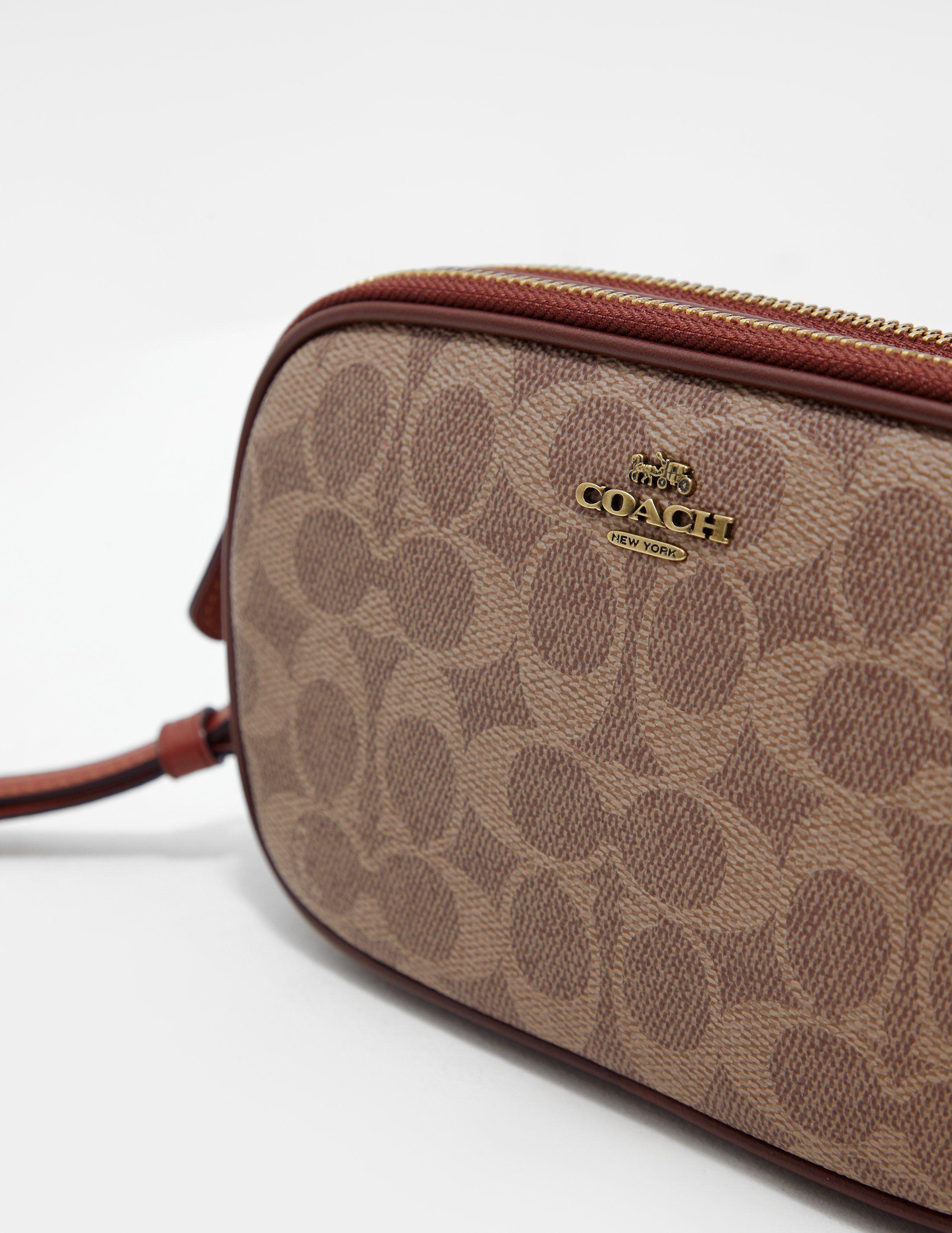 COACH Signature Canvas Shoulder Bag