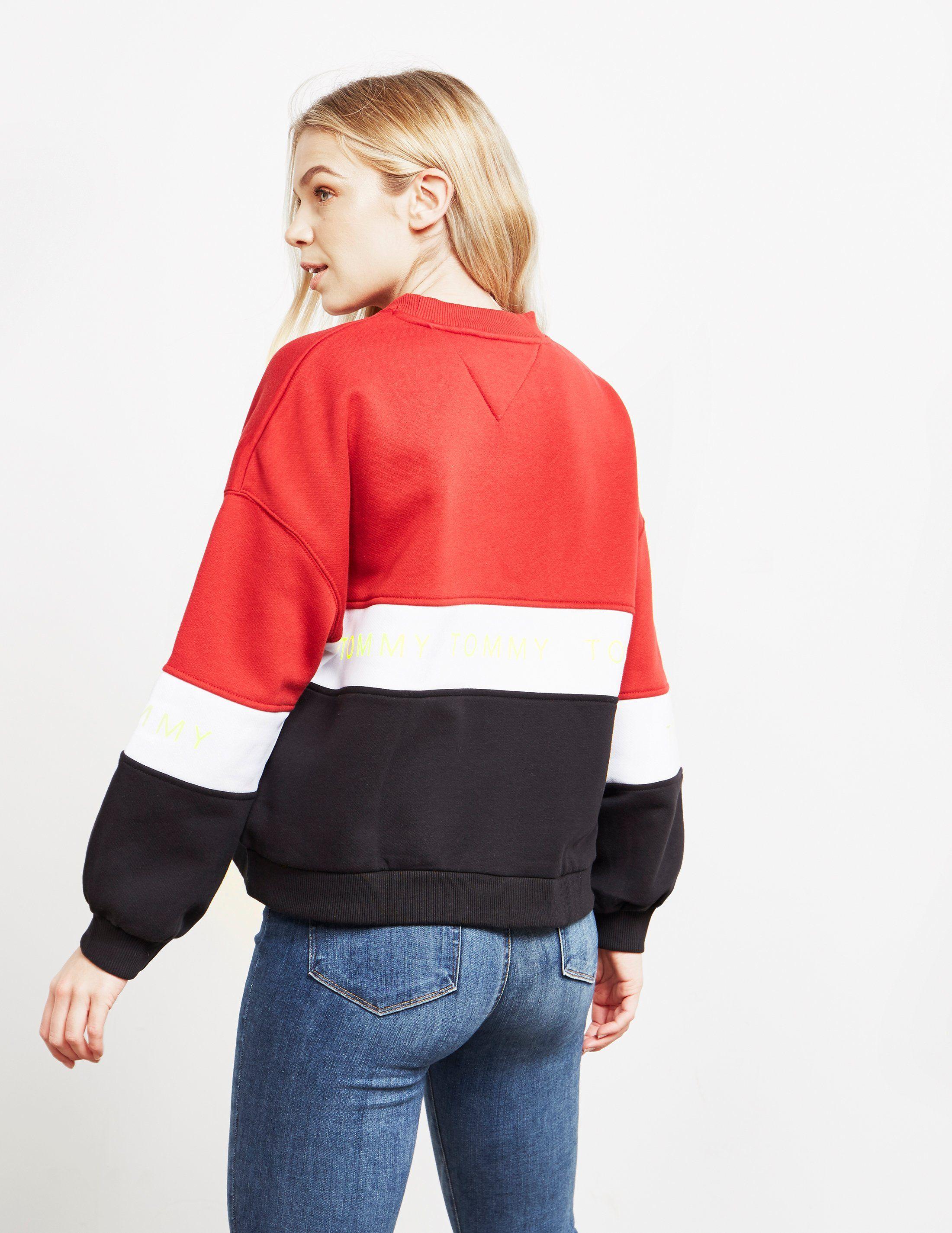 Tommy Jeans Colour Block Sweatshirt