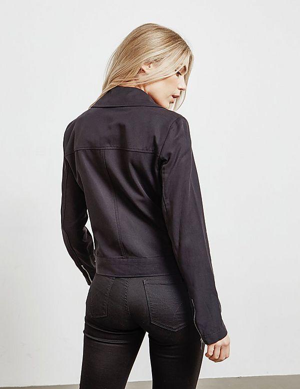 DKNY Zip Front Jacket