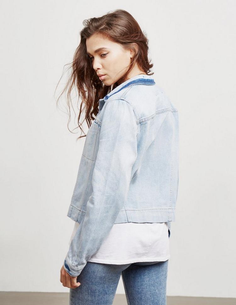 DKNY Patch Denim Jacket
