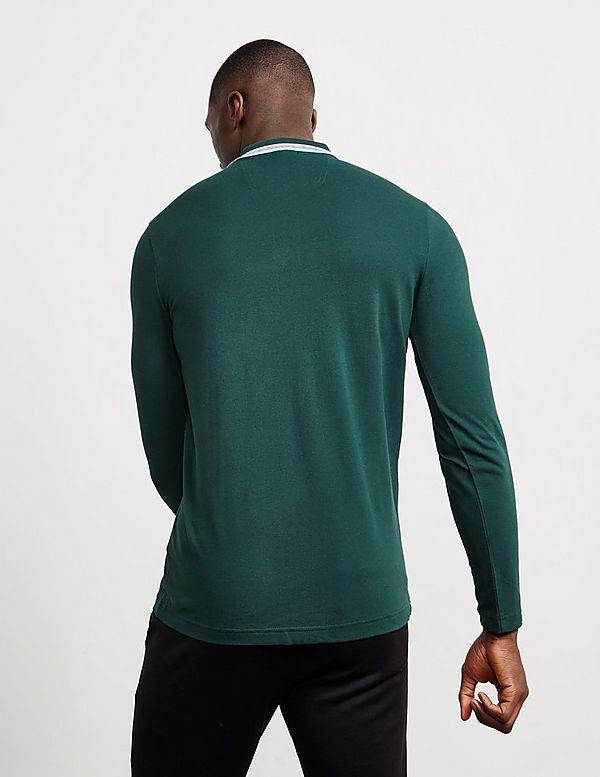 640915b72 BOSS Plisy Long Sleeve Polo Shirt | Tessuti