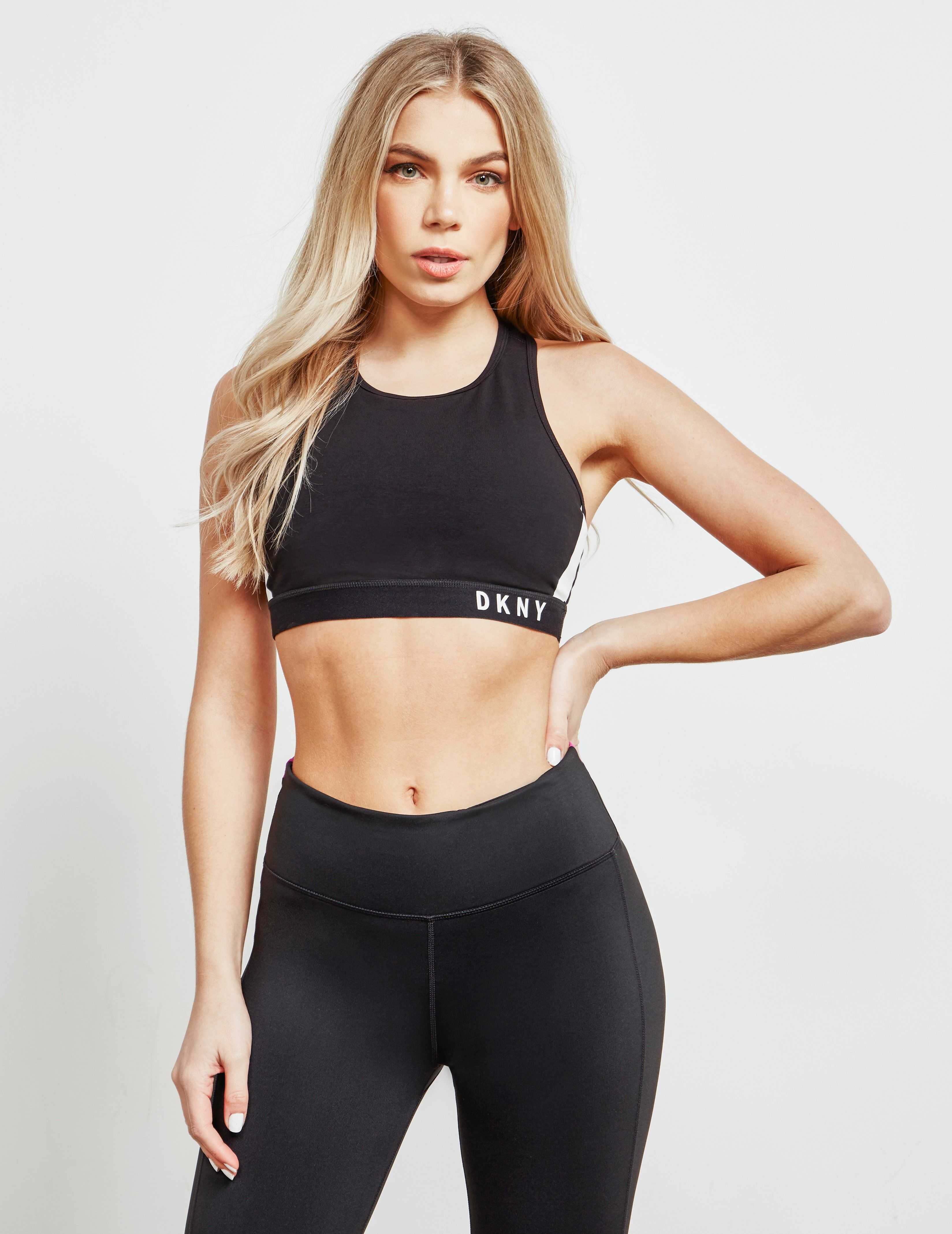DKNY Knockout Crop Top - Online Exclusive