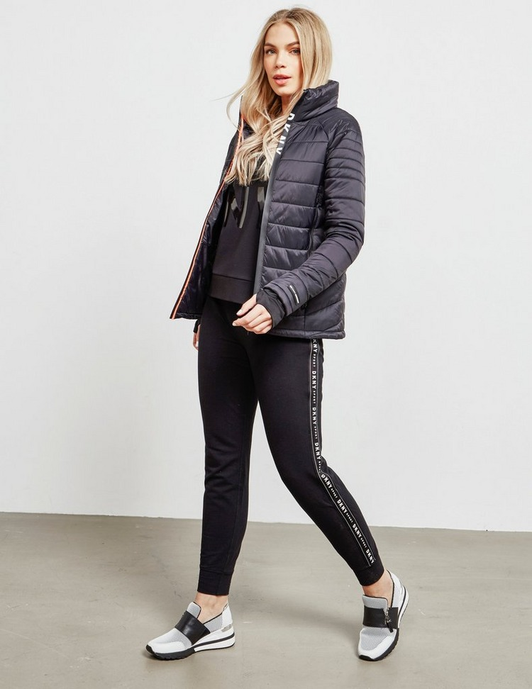 DKNY Logo Zip Padded Jacket