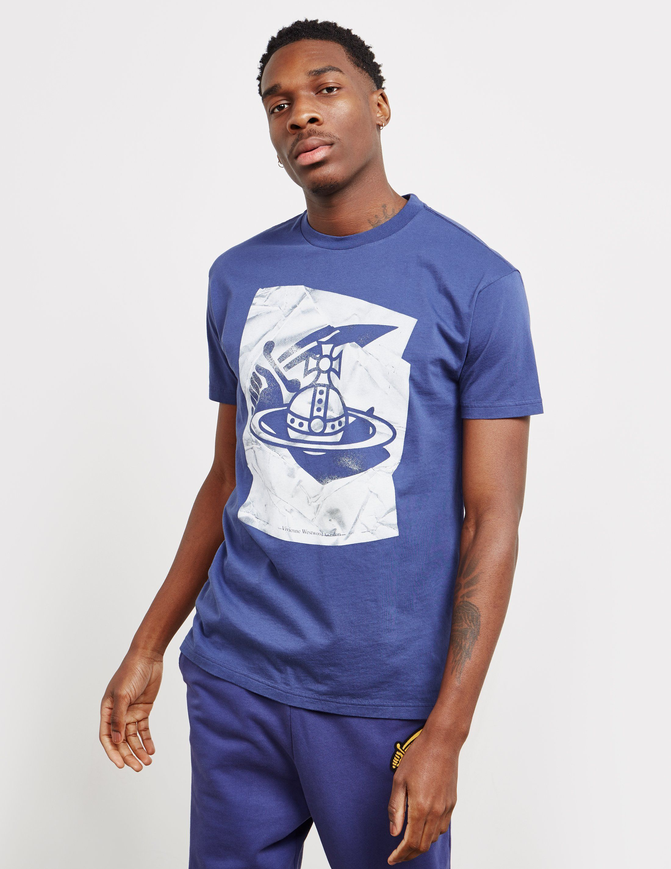 Vivienne Westwood Anglomania Print Short Sleeve T-Shirt