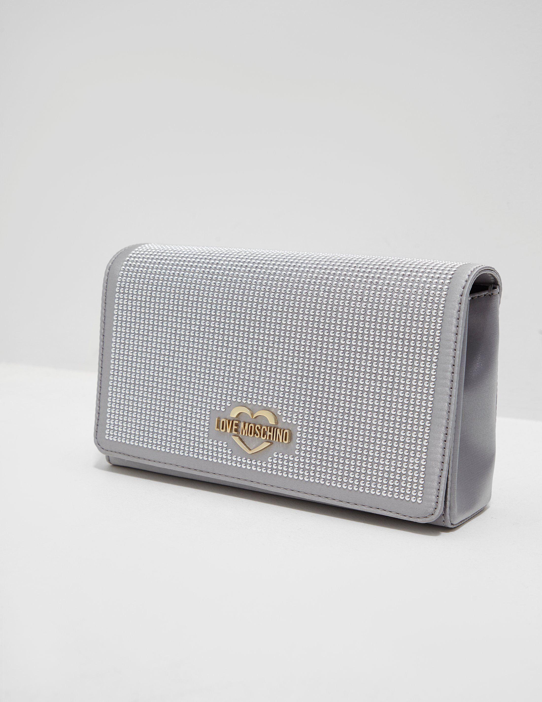 Love Moschino Diamante Shoulder Bag