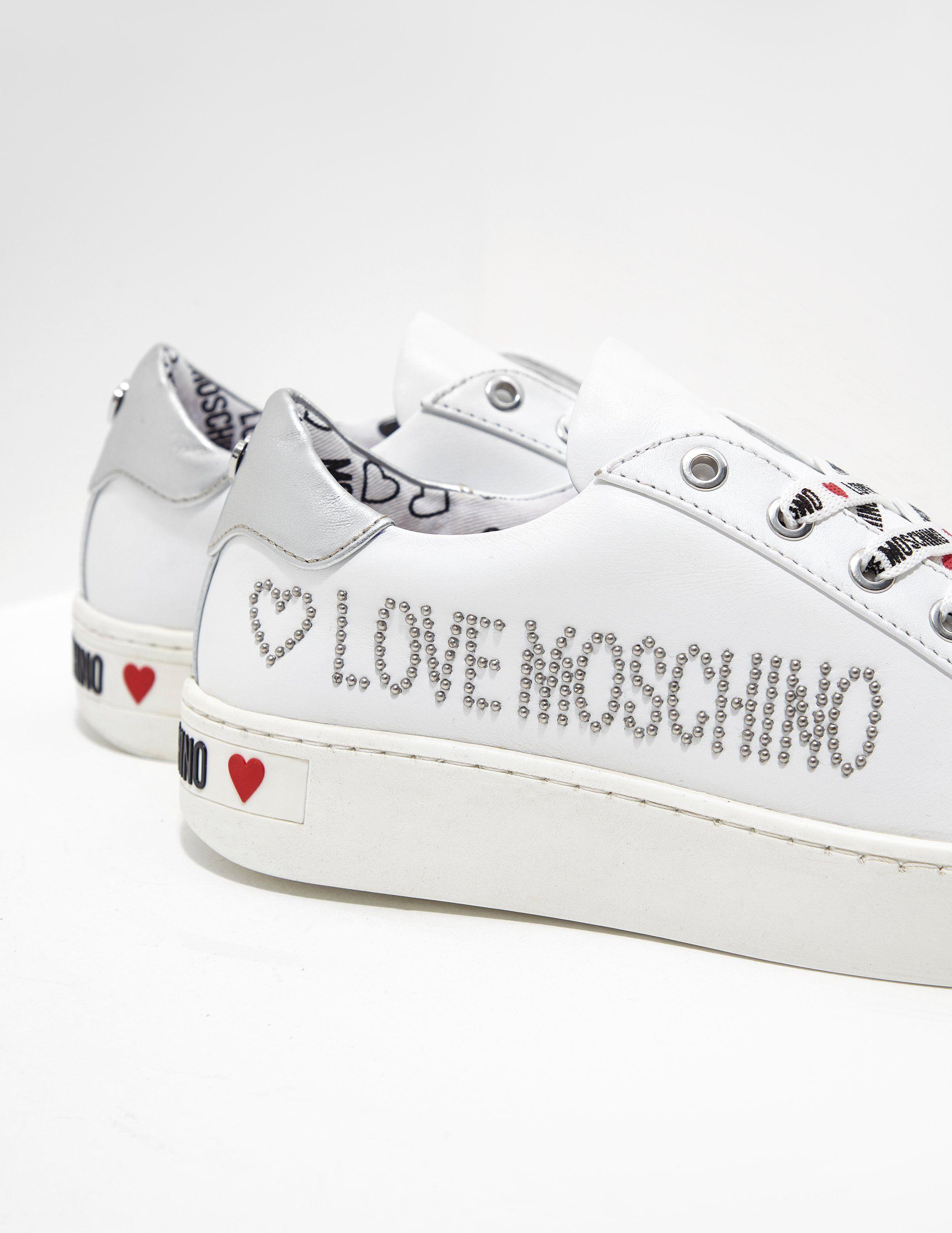 Love Moschino Diamante Trainers