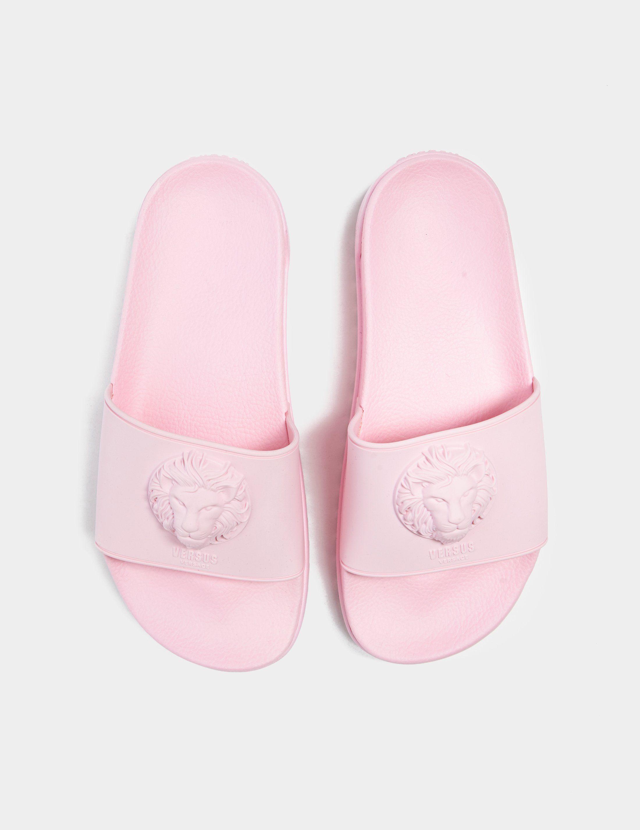 Versus Versace Lion Head Slides
