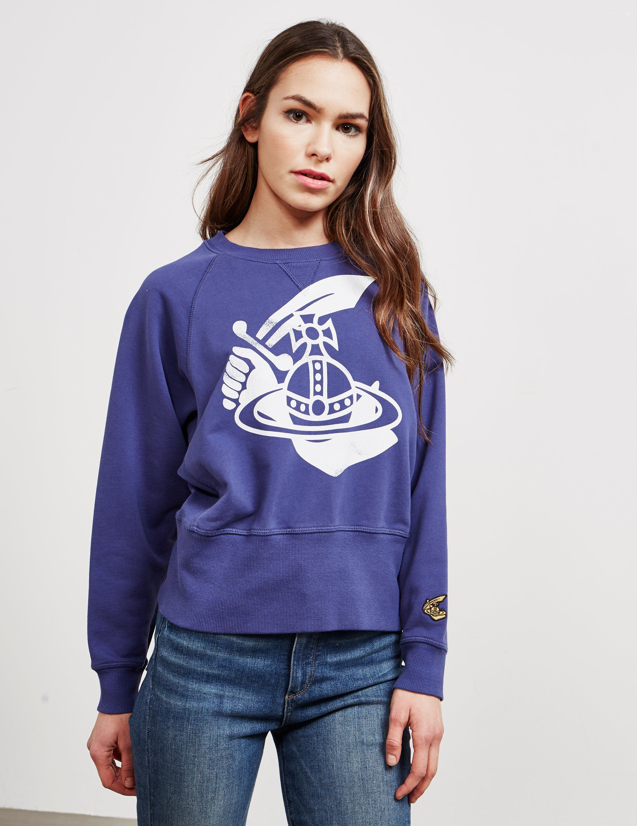 Vivienne Westwood Anglomania Athletic Orb Sweatshirt