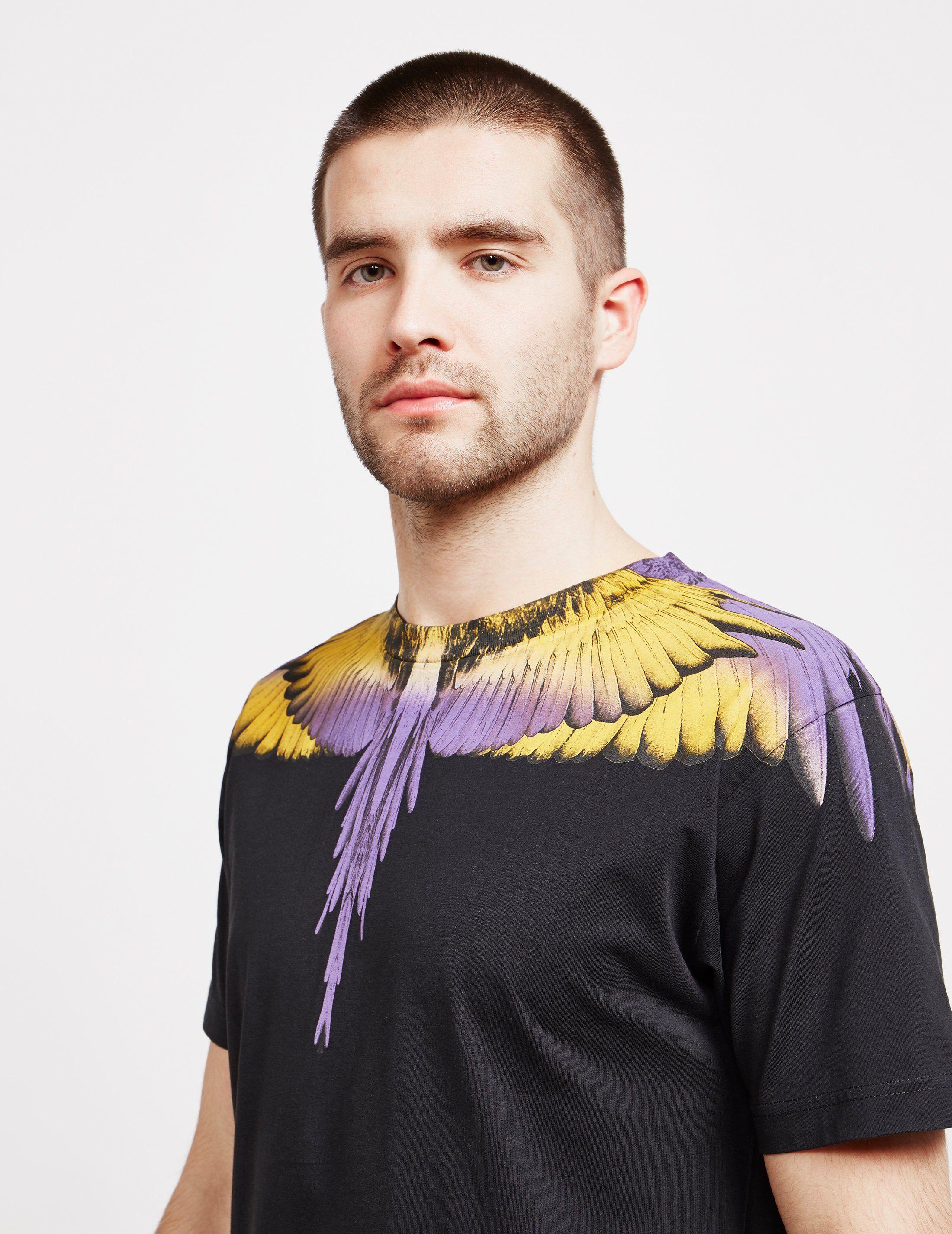 Marcelo Burlon Wings Short Sleeve T-Shirt