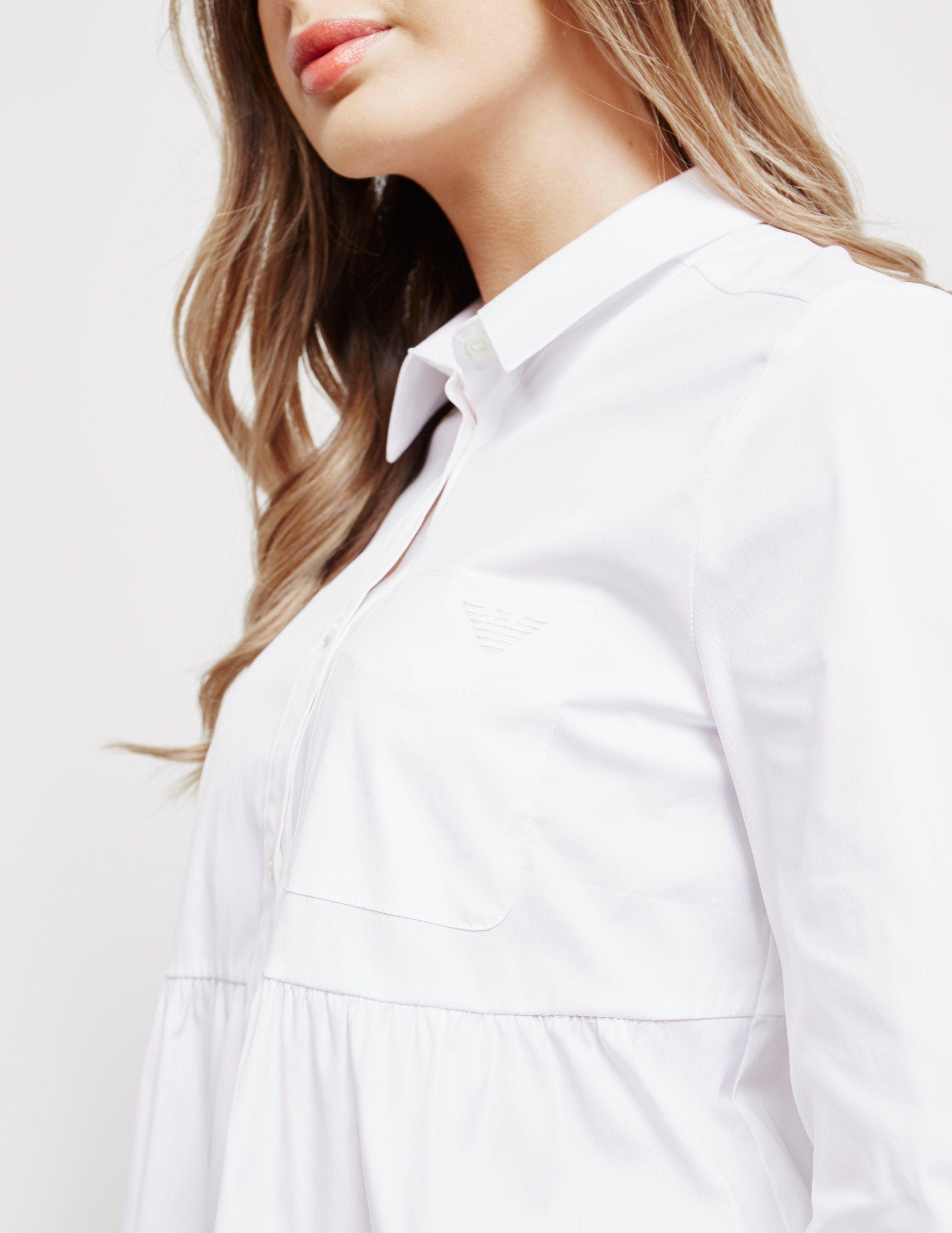 Emporio Armani Pocket Long Sleeve Shirt - Online Exclusive