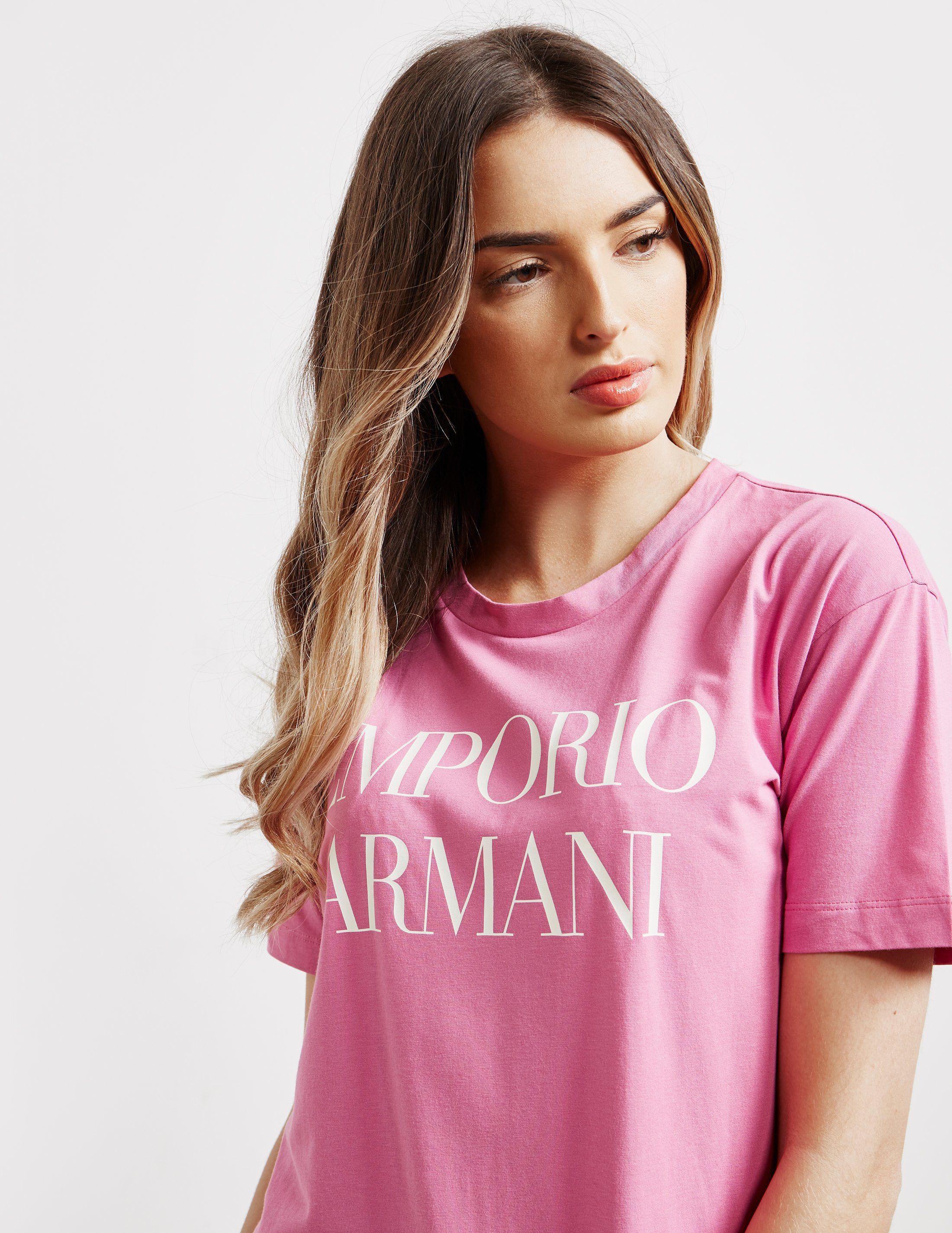 Emporio Armani Logo Short Sleeve T-Shirt