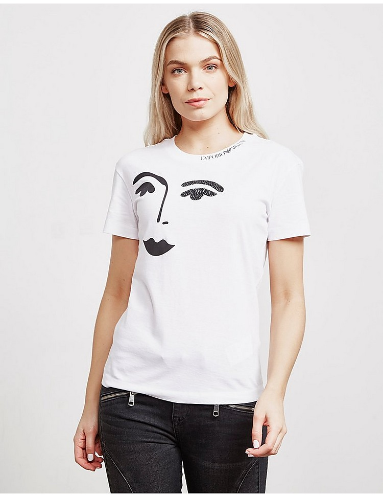 Emporio Armani Face Short Sleeve T-Shirt - Online Exclusive