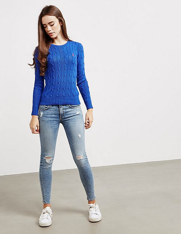 7038277a21b9 Polo Ralph Lauren Juliana Knit Jumper