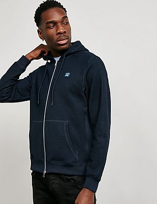 Paul and Shark Full Zip Pique Hoodie