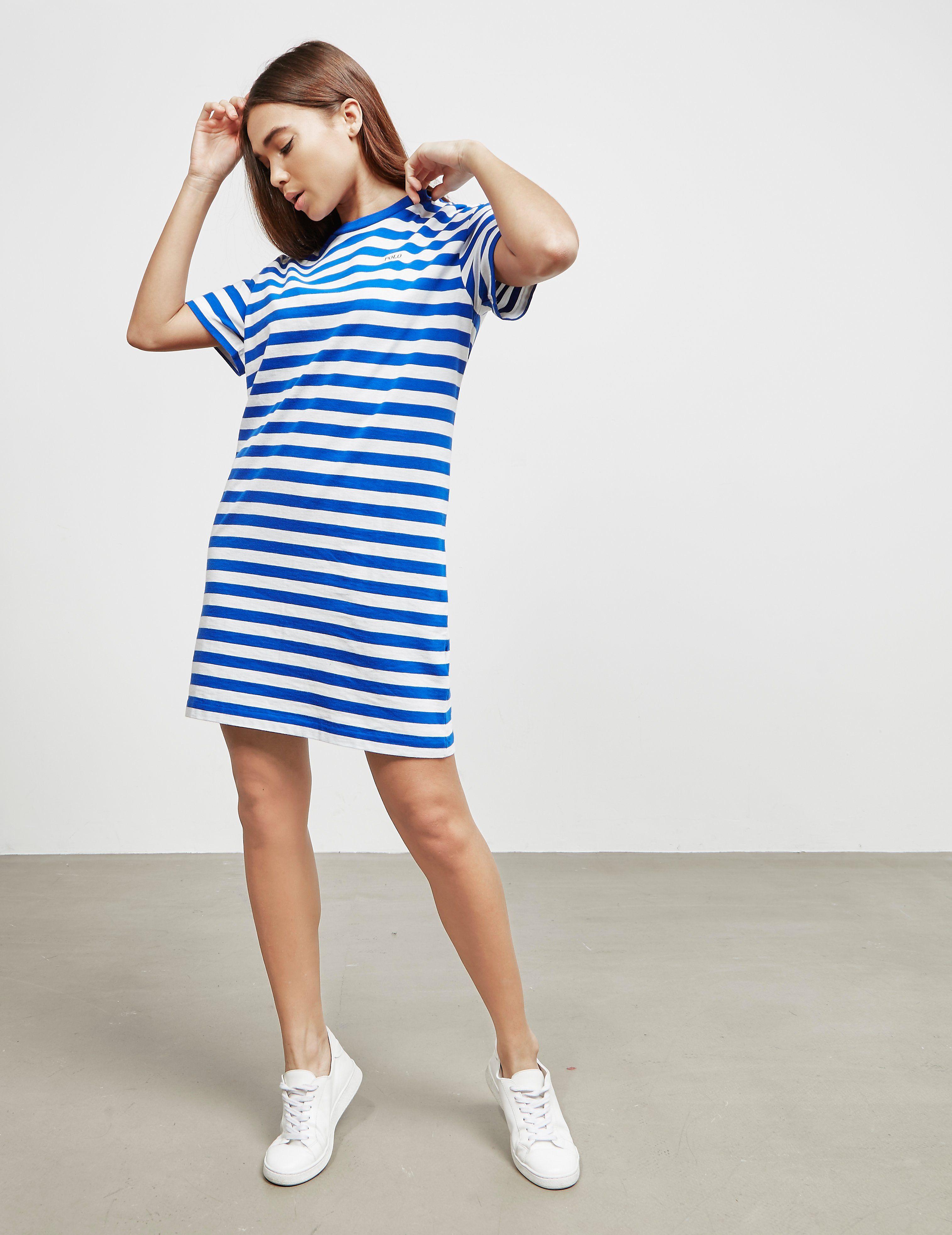 Polo Ralph Lauren Stripe T-Shirt Dress