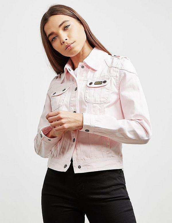 Barbour International Durness Denim Jacket