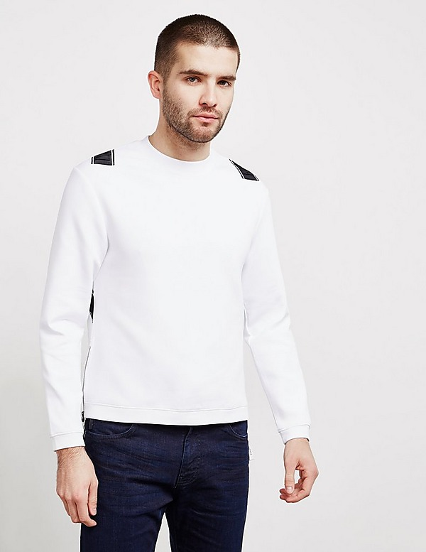 Emporio Armani Cross Tape Sweatshirt