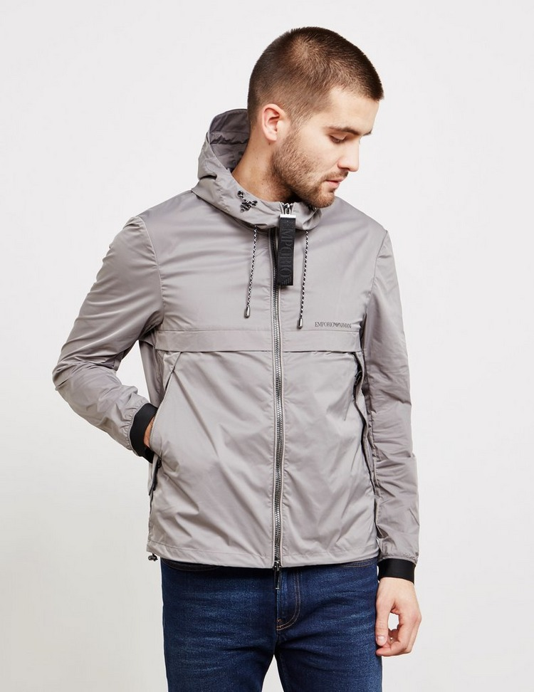Emporio Armani Large Zip Hooded Jacket