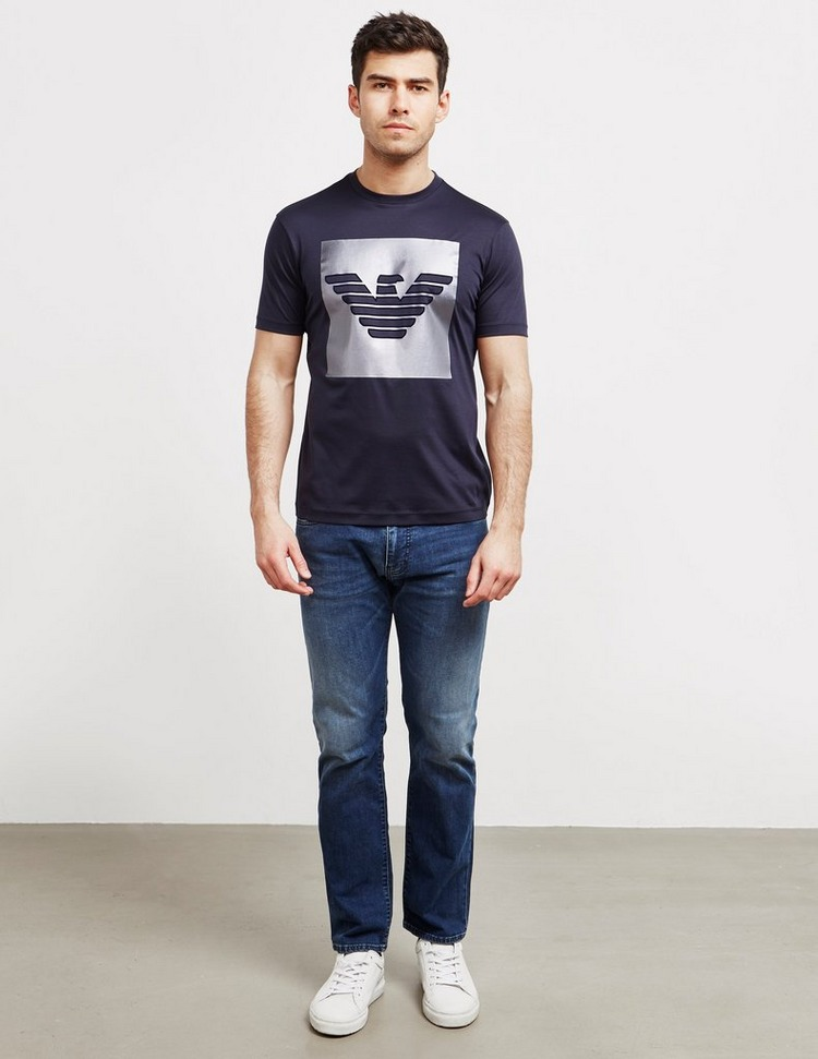 Emporio Armani Shine Logo Short Sleeve T-Shirt