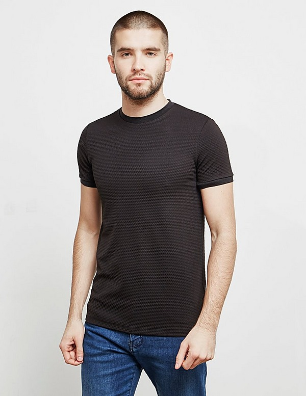 Emporio Armani Waffle Short Sleeve T-Shirt - Online Exclusive
