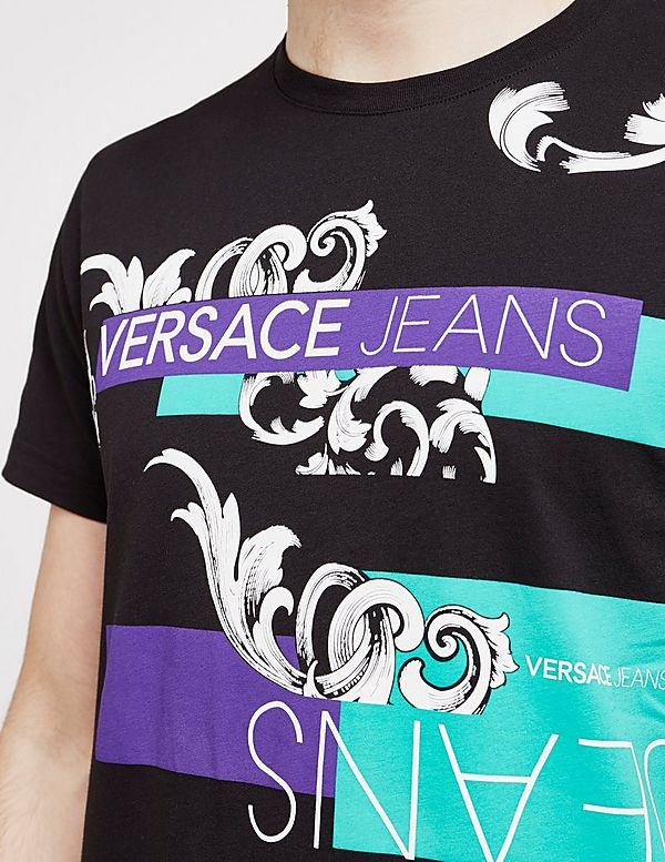 Versace Jeans Couture Block Short Sleeve T-Shirt