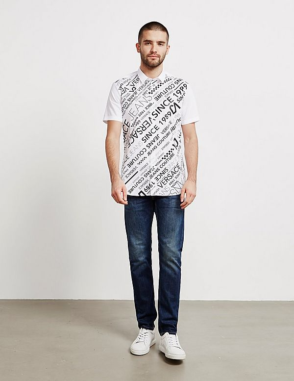 Versace Jeans Couture Logo Short Sleeve Shirt - Online Exclusive