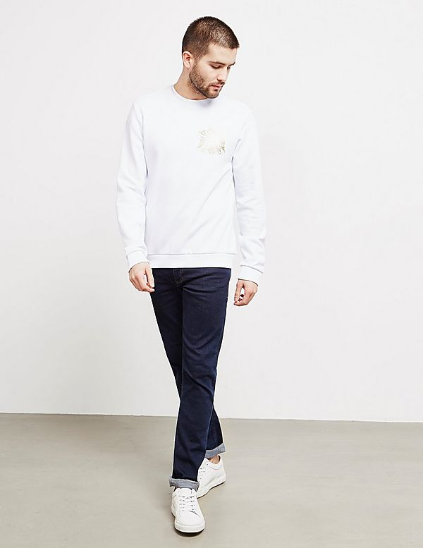 Versace Jeans Couture Foil Logo Sweatshirt