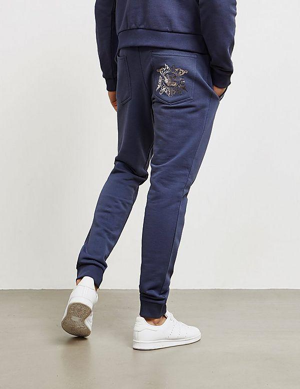 Versace Jeans Couture Foil Logo Fleece Pants