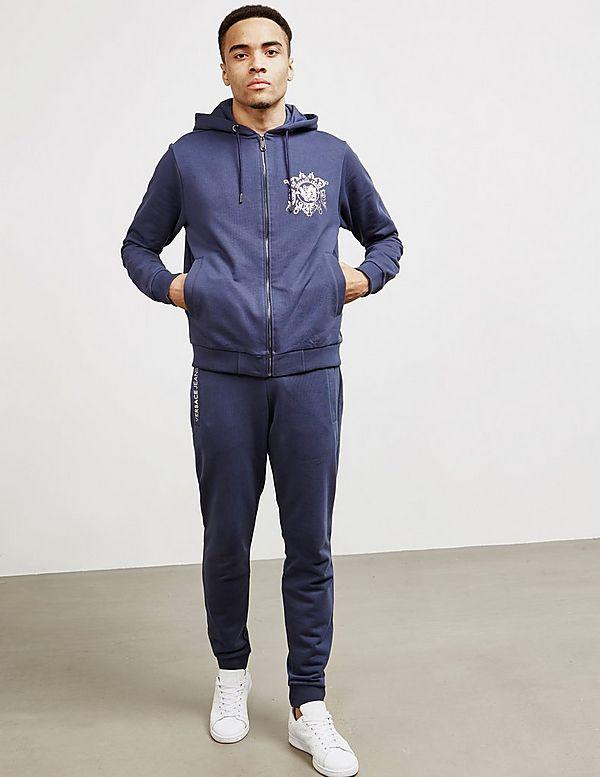 Versace Jeans Couture Foil Logo Full Zip Hoodie