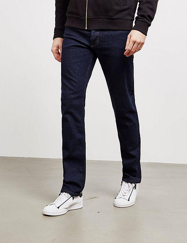 Versace Jeans Couture Stitch Logo Slim Jeans - Online Exclusive