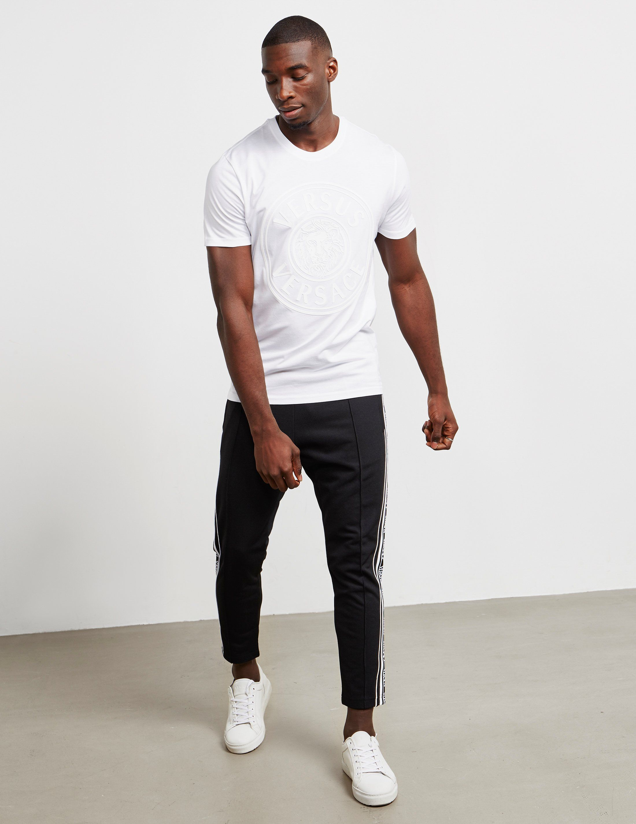 Versus Versace Rubber Logo Short Sleeve T-Shirt