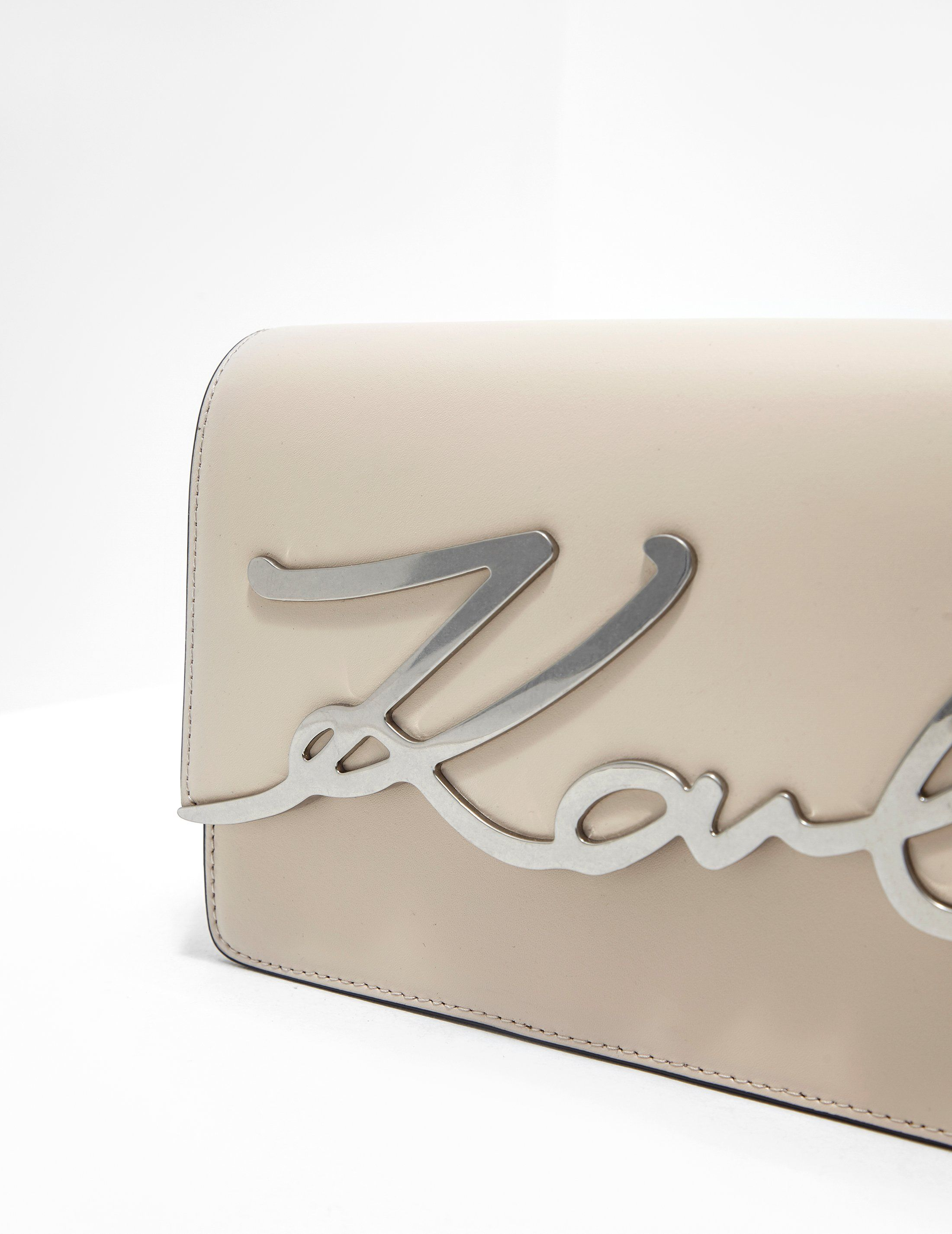 Karl Lagerfeld Signature Shoulder Bag