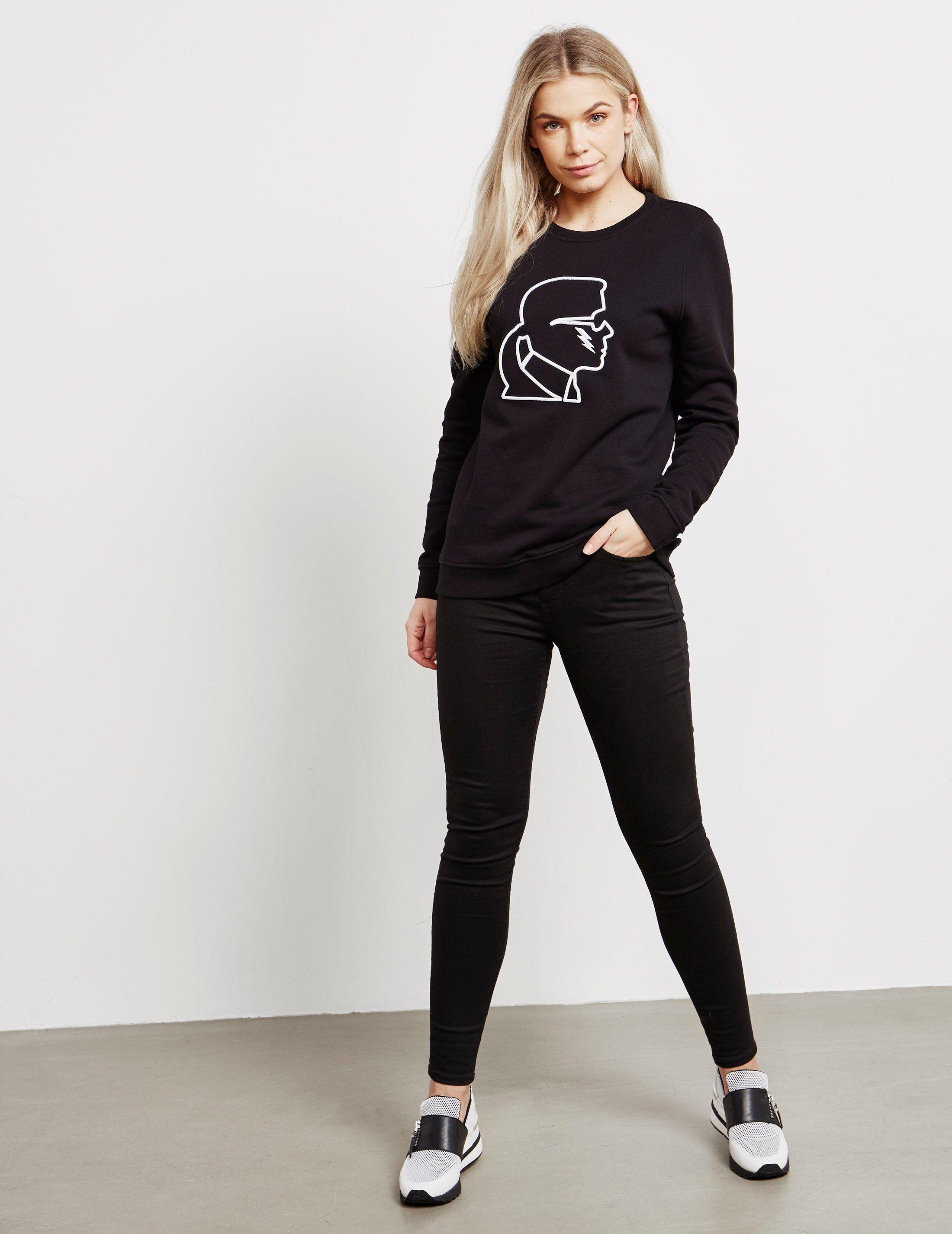 Karl Lagerfeld Bolt Sweatshirt