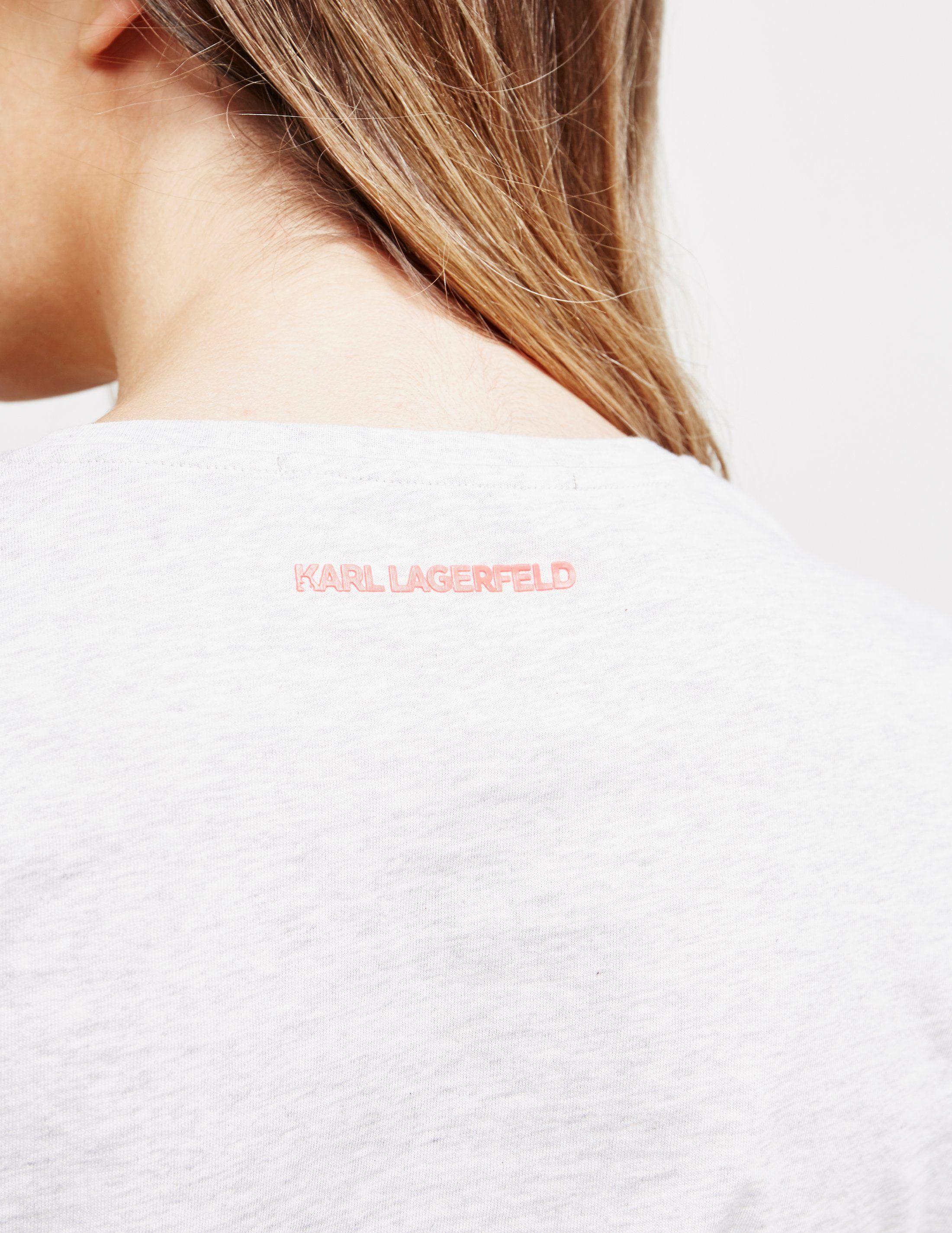 Karl Lagerfeld Ikon Bolt Short Sleeve T-Shirt