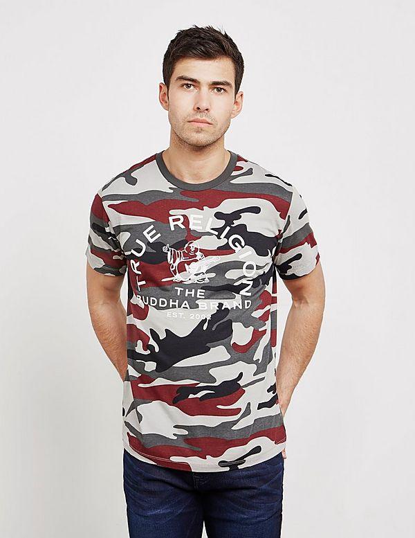 a382ab29 True Religion Camouflage Short Sleeve T-Shirt | Tessuti