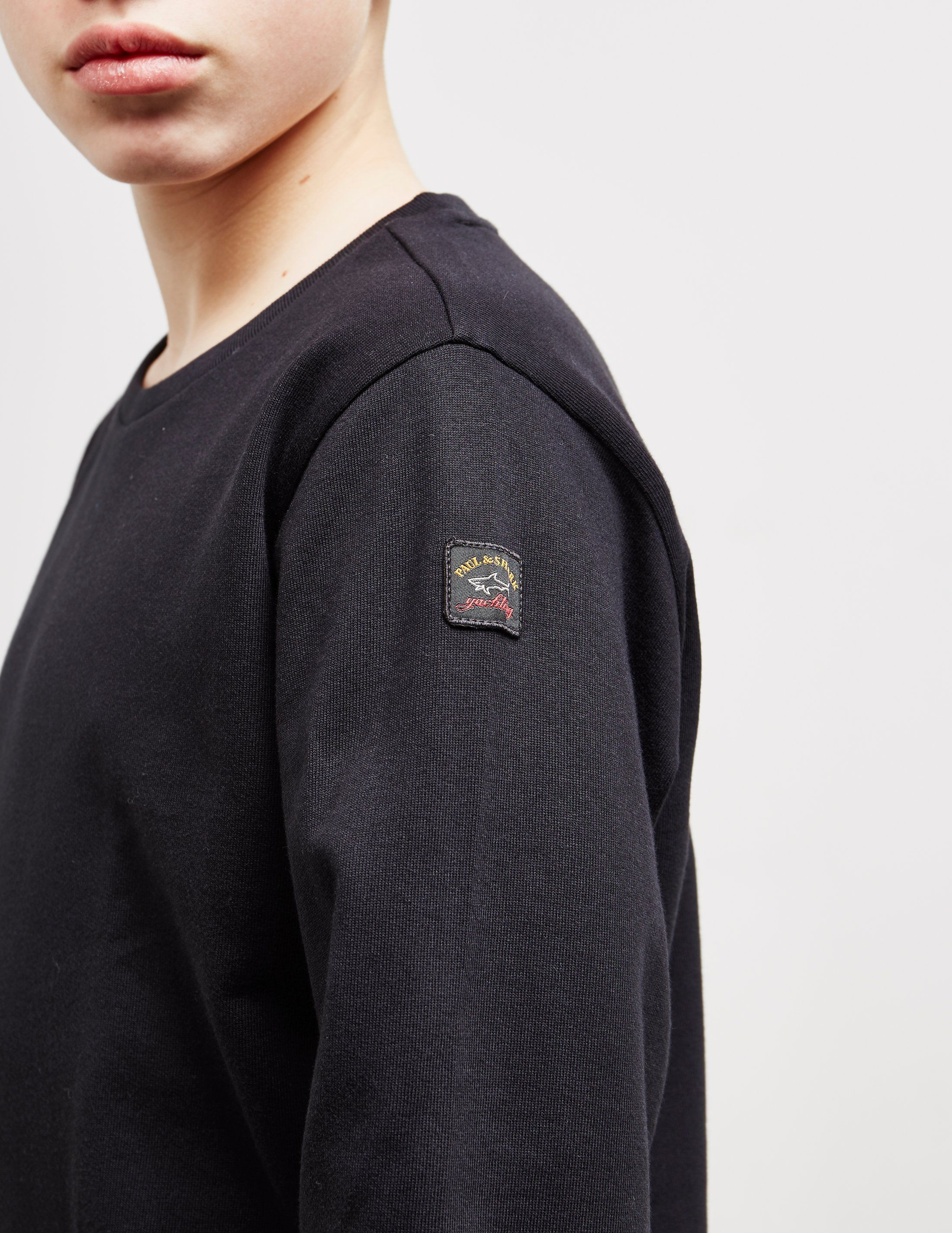 Paul and Shark Patch Sweatshirt