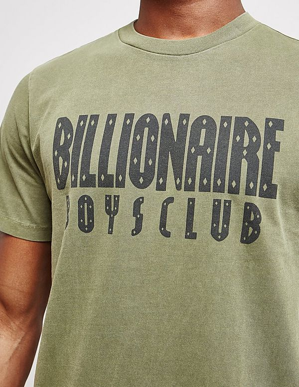 Billionaire Boys Club Overdye Short Sleeve Logo T-Shirt