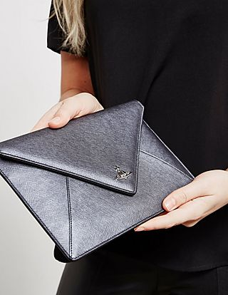 Vivienne Westwood Envelope Clutch Bag