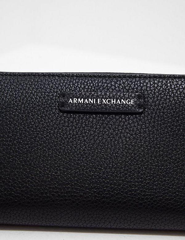 Armani Exchange Pebble Zip Purse