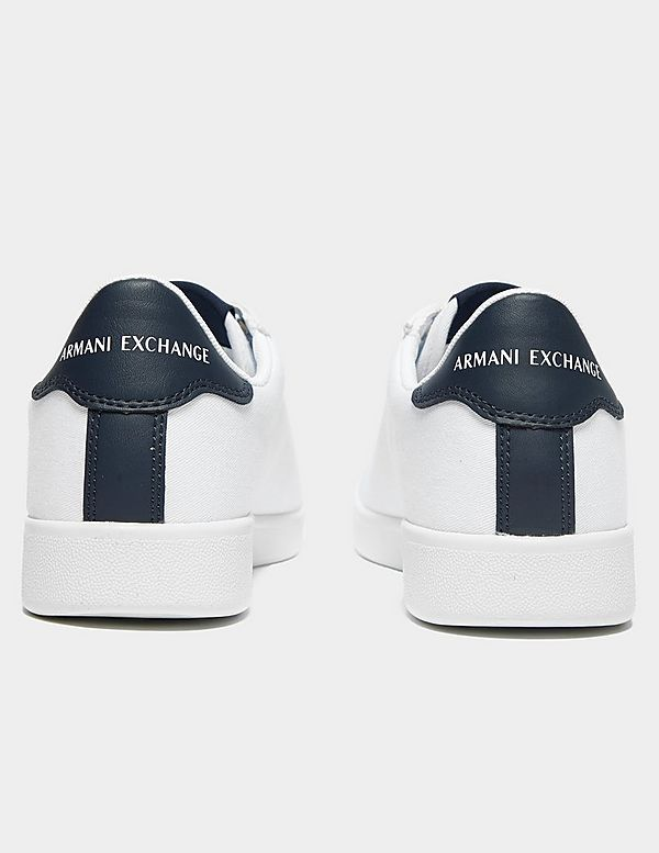 Armani Exchange Canvas Trainers
