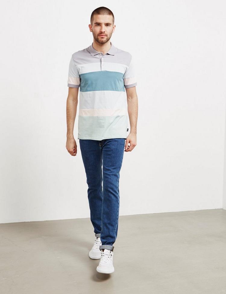 PS Paul Smith Cut and Sew Short Sleeve Polo Shirt