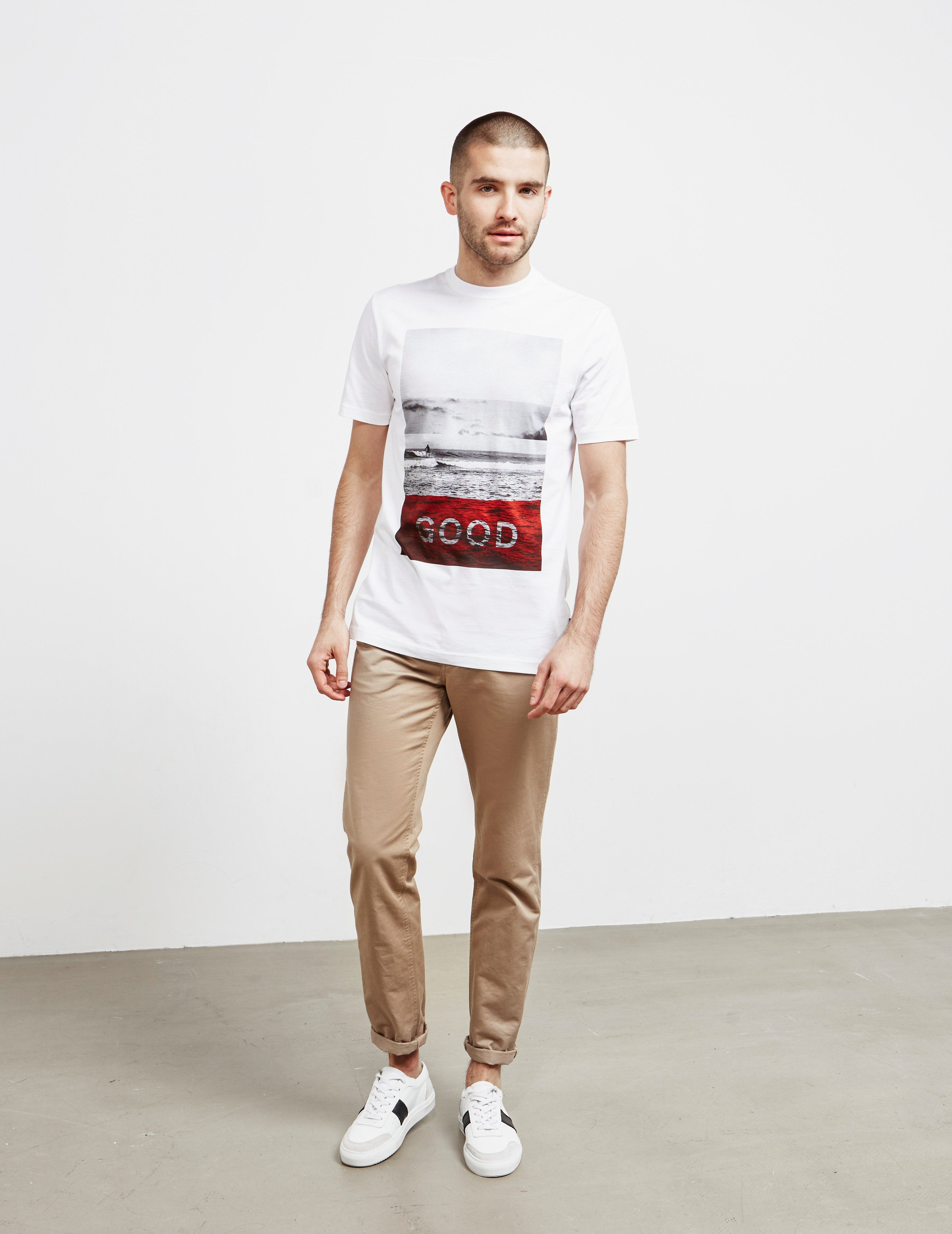 PS Paul Smith Good Surf Short Sleeve T-Shirt