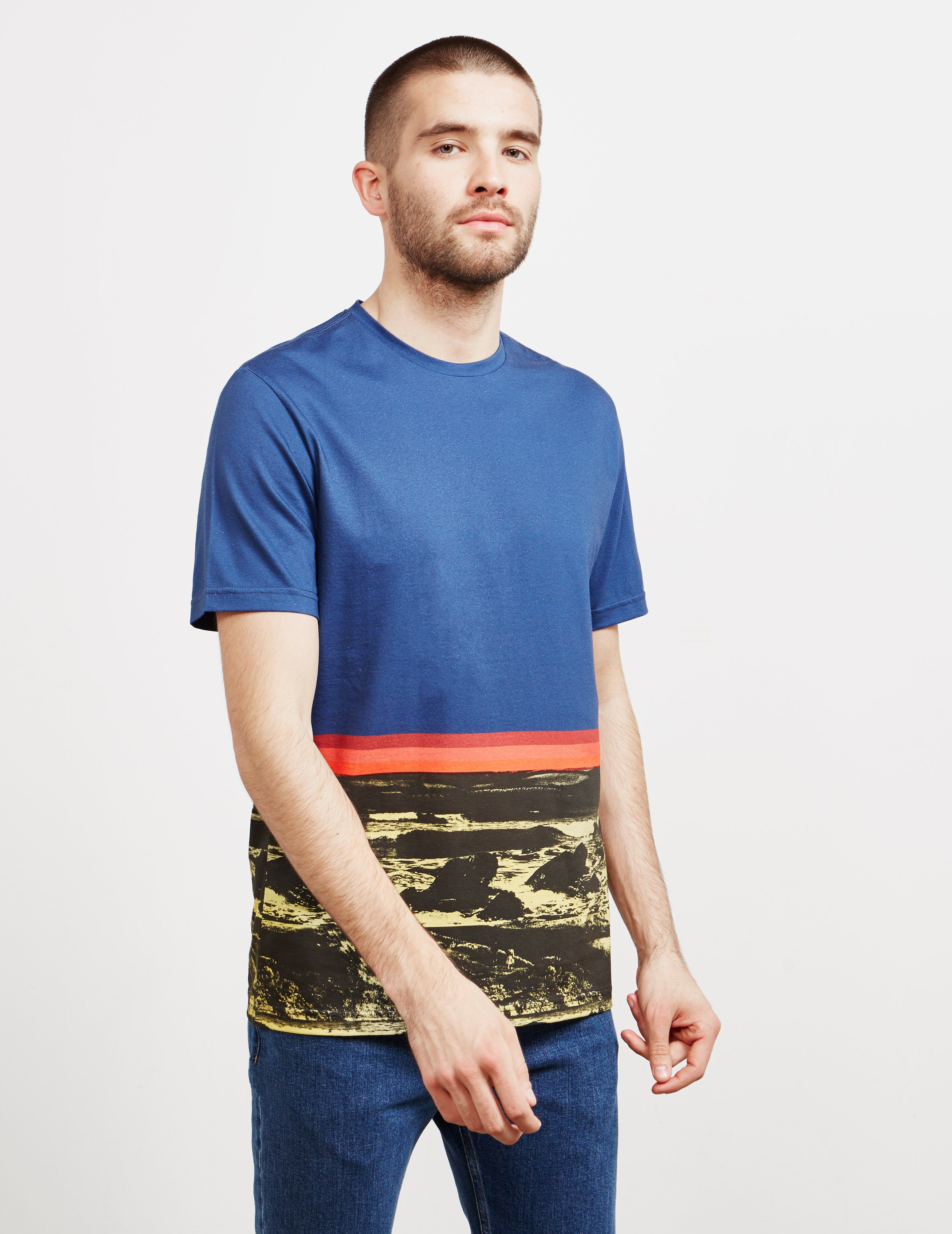PS Paul Smith Photo Trim Short Sleeve T-Shirt