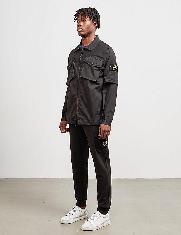 Stone Island Zip Sleeve Overshirt