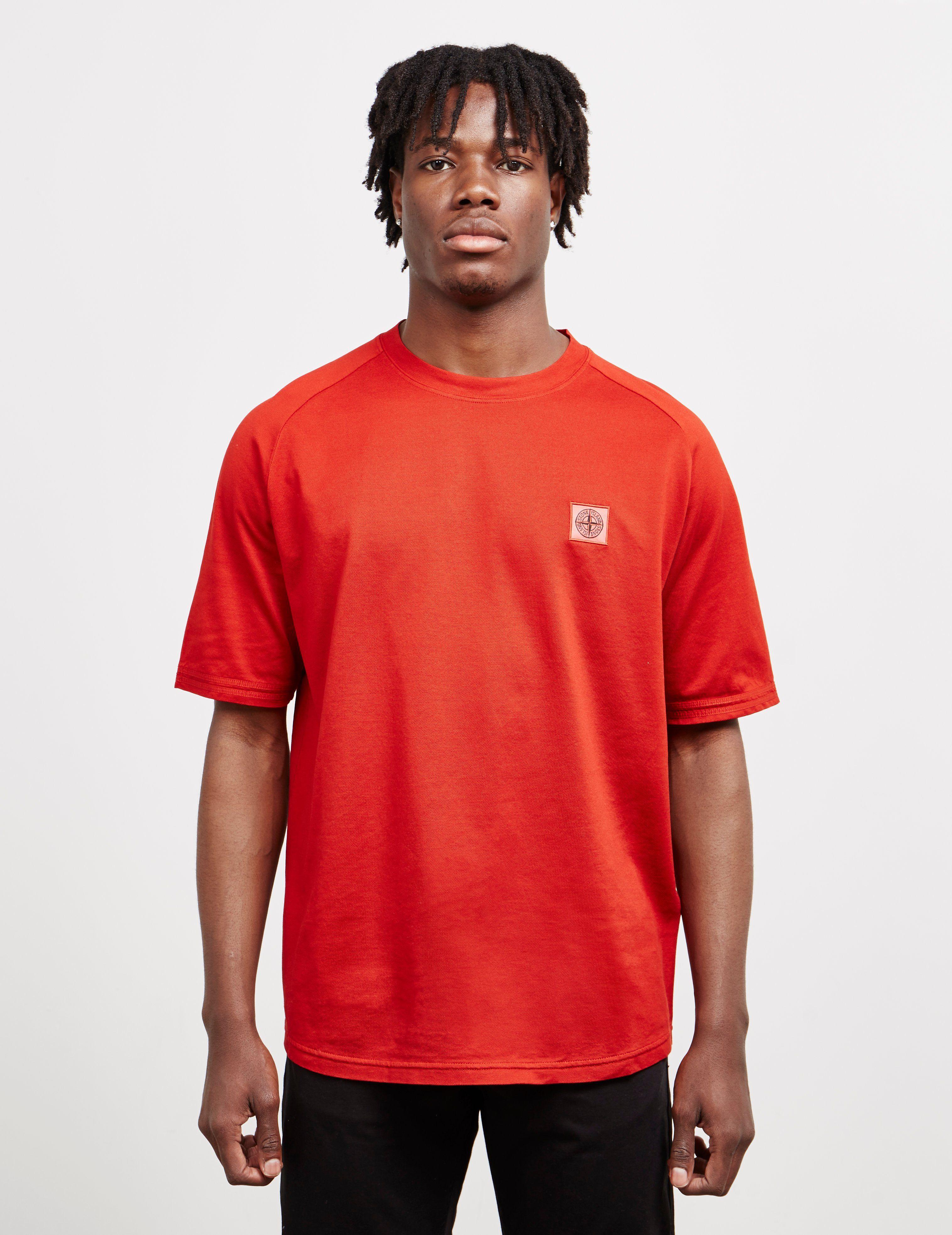 Stone Island Mercerised Short Sleeve T-Shirt